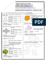 Questões de Matemática descritores 1, 2 e 3.