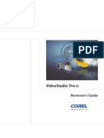 Corel Video Studio Pro X2 Reviewer Guide