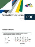 Pembuatan Polipropylene