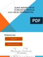Inversi least square untuk interpretasi data vertical electrical.pptx