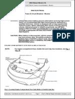2004 Nissan Murano 3.5L Diagrama de Fusibles y Circuitos de Proteccion