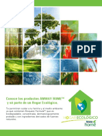 Uso Productos Amway Home