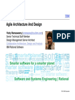 Agile Architecture And Design