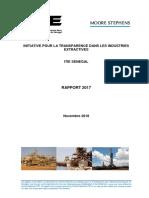 Rapport ITIE 2017 Sénégal Vf