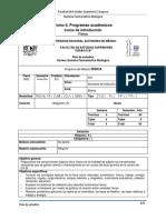 Plan de Estudios Fisca QFB