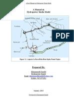 Draft Manual on Hydropower Studio Model