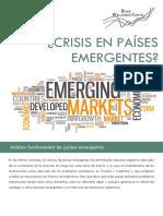 Crisis en Países Emergentes