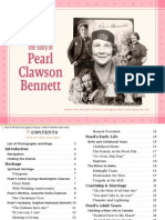 Pearl Clawson Bennett - An Interactive History