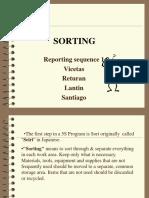 Sorting Report