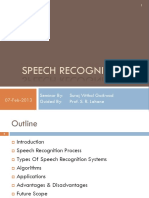 130379428-Speech-Recognition-Seminar.pptx
