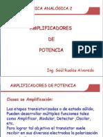 AMPLIFICADORES DE POTENCIA 1