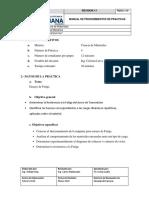 Informe de Ensayo de Fractura