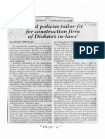 Philippine Star, Feb. 18, 2019, DBM policies tailor-fit for construction firm of Diokno's in-law's.pdf