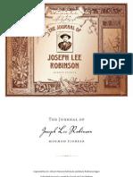Joseph Lee Robinson's Journal - Interactive Ebook
