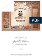 Joseph Lee Robinson's Journal - Interactive Ebook