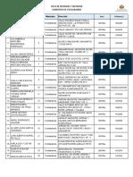 Lista Notarias Notarios Cochabamba