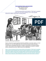 Inclusionineducation PublishedArticle Sudarshan TheHimalayanTimes