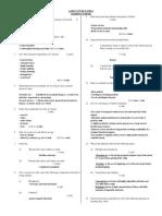 Agriculture Paper 2 Marking Scheme