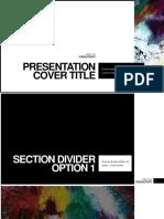Minimal Presentation Cover Title