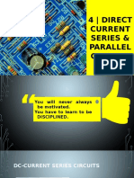EE40 Basic Electrical Engineering (DC Series-Parralel Circuit)