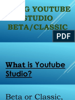 How to Use Youtube Studio Beta - Alvin Mapas - Valuable Video Visionary