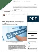 Pentingnya Mebangun Web Sendiri bagi UKM