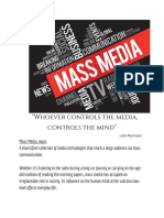 mass media- edit