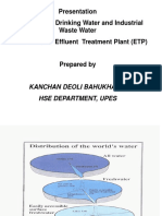 Waste Water Treatment 2014