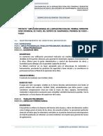 ESPECIFICACIONES TECNICAS CORREGIR