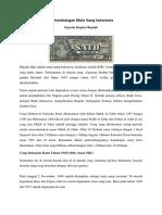 Perkembangan Mata Uang Indonesia