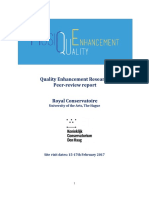 Quality Enhancement Report