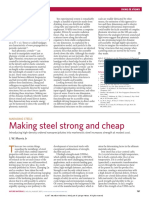 Maraging Steels - Making Steel Strong and Cheap