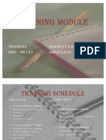 TRAINING_MODULE for Critical Thinking
