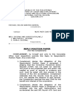 Riply Position Paper for Complainant