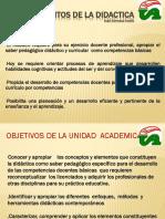 FUNDAMENTOS DE LA DIDACTICA  presentación.pptx