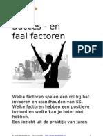 Succes en Faal Factoren 5S (W53)