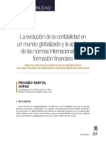 Revista UIGV La Evolución de La Contabilidad en Un Mundo Globalizado y Aplicac Niif547!97!974-2!10!20181219