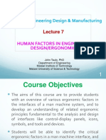 Lecture 12 Human 1Factors Engineering
