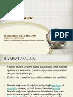 2016 S2 Biostatistik Bivariate Analysis