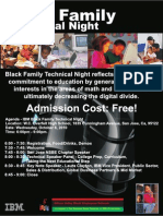 IBM Black Family Technical Night 1