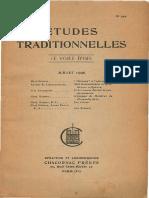 Etudes Traditionnelles v41 n199 1936 Jul - Unknown