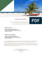 Job Posting _ Sun Aqua Vilu Reef 18.02.19.