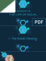 3. LIFE OF RIZAL