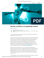 Nuclear Medicine, An Exploding Market _ LinkedIn