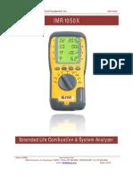 IMR 1050X Manual