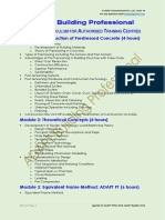 ADAPT Professionals Course Curriculum