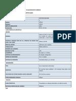Motoniveladora 190 Hp Especificaciones y Calificaciones