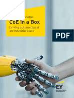 Intelligent Automation CoE in a Box - EY India
