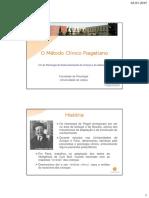 Metodo Clinico Piaget