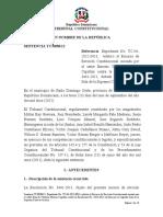 Sentencia TC-0038-12